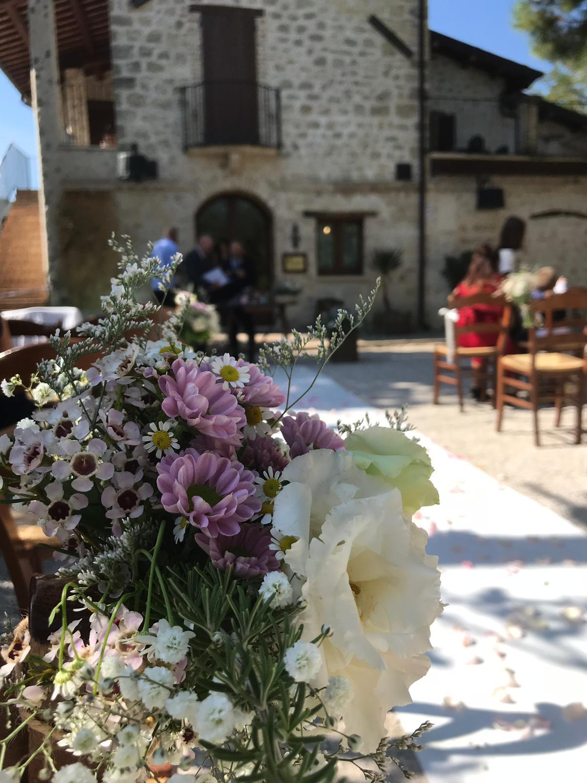 Matrimonio in Abruzzo dal sapore country!